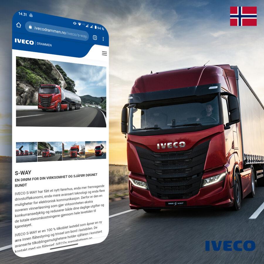Ny nettside for våre nye norske venner i Drammen, Norge