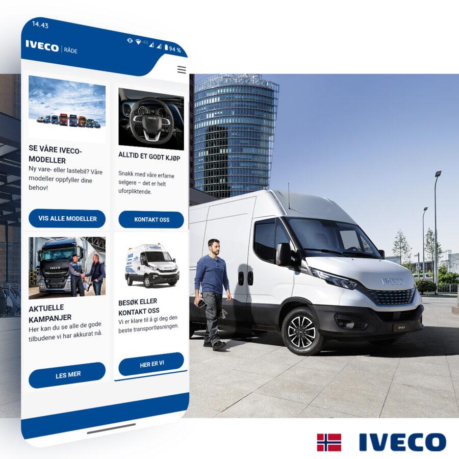 Nytt nettsted hos Iveco i Råde 🇳🇴