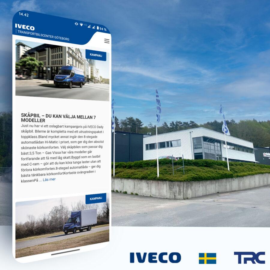 Hejsan Sverige och Transportbilcenter Göteborg